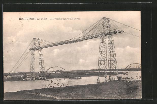 AK Rochefort-sur-Mer, Schwebefähre, le Transbordeur de Martrou
