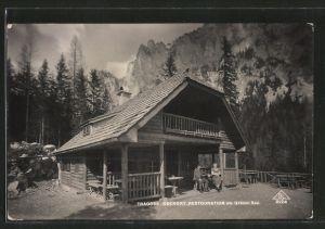 AK Tragöss-Oberort, Gasthaus am Grünen-See
