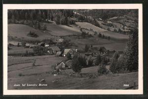 AK Auen, Blick auf das Dorf
