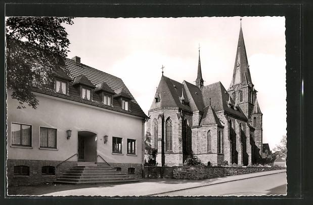 AK Gummersbach, Kath. Kirche und Jugendheim