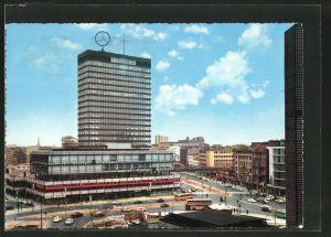 AK Berlin-Charlottenburg, Europa-Center mit Haus der Nationen