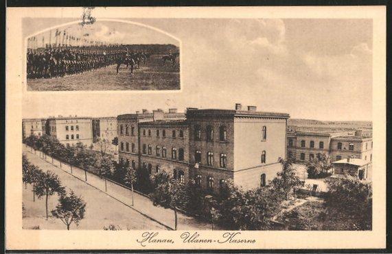 AK Hanau, Ulanen-Kaserne, Ulanen im Manöver