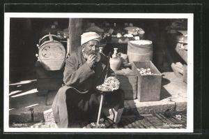 AK Sarajewo, Na trgu, Händler auf dem Markt, Marktszene