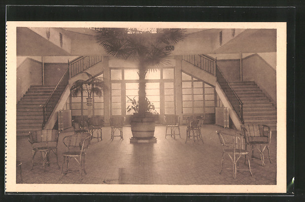 AK Jambes-Namur, Pensionnat des Soeurs de Sainte-Marie, Chaussée de Liège  70, Hall d\'entrée