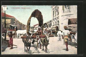 AK Colombo, Street scene
