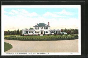 AK Greensboro, NC, Club House of Starmount Golf Club