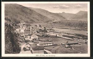 AK Selztal, Blick zum Bahnhof und Grimming
