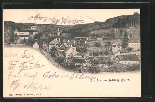 AK Schloss Wald, Totalansicht