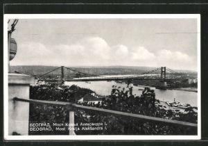 AK Beograd, Most Kralja Aleksandra I.
