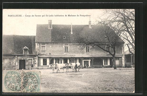 AK Panilleuse, Corps de Ferme qui fut jadis habitation de Madame de Pompadour