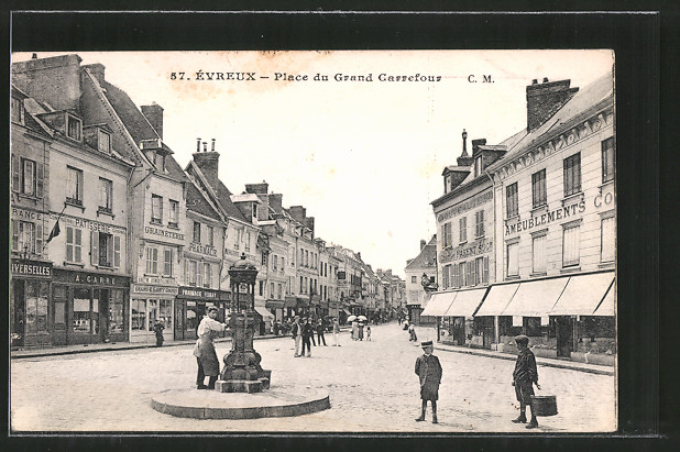 AK Evreux, Place du Grand Carrefour