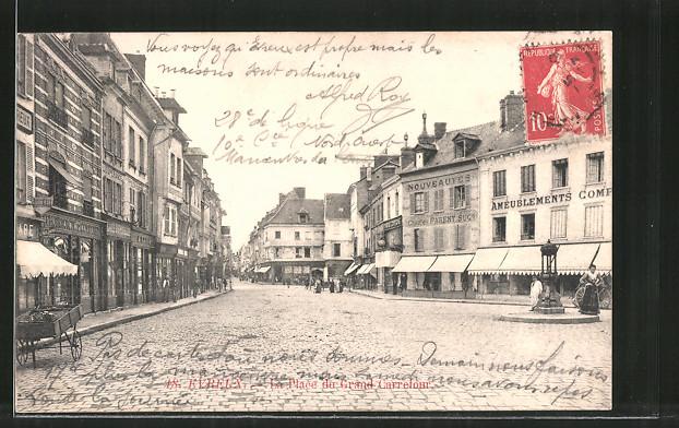 AK Evreux, La Place du Grand Carrefour