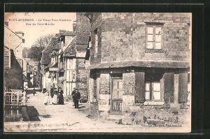 AK Pont-Audemer, le vieux Pont-Audemer, Rue du Petit-Moulin
