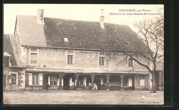 AK Panilleuse, Habitation oú résida Madame de Pompadour