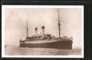 AK Passagierschiff MS Monte Sarmiento auf See