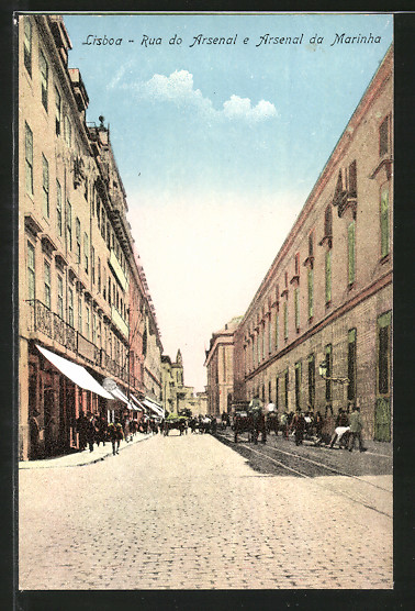 AK Lisboa, Rua do Arsenal e Arsenal da Marinha