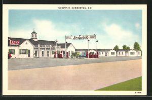 AK Summerton, SC, Godwin's Motor Court Hotel