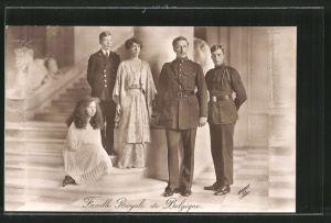 AK Famille Royale de Belgique, Königsfamilie von Belgien