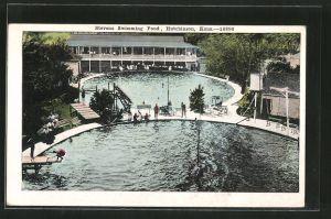 AK Hutchinson, KS, Stevens Swimming Pond