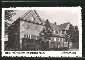 AK Graal-Müritz, Strassenpartie am Richard-Assmann-Heim