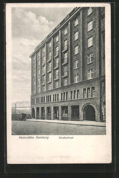 AK Hamburg-St.Georg, Heimstätte des Allg. dt. Gewerkschaftsbundes, Nagelsweg 10-14, Arbeiterbewegung