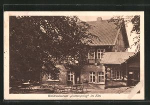 AK Königslutter, Waldrestaurant