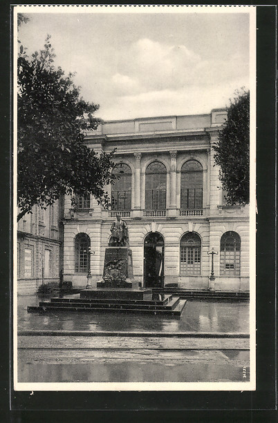 AK Bogota, Plazuela Caro, Monumento a Don Miguel Antonio Caro