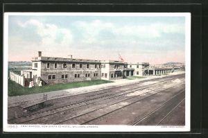 AK Williams, AZ, Fray Marcos, New Santa fe Hotel