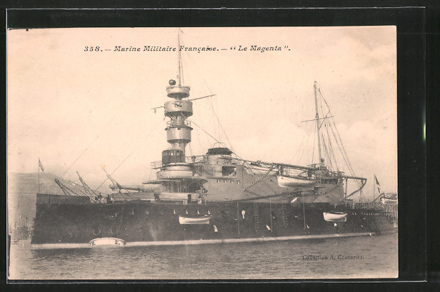 AK Le Magenta, Kriegsschiff der Marine Militaire Francaise