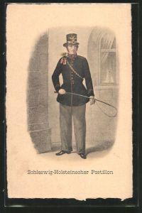 AK Schleswig-Holsteinscher Postillon in Uniform