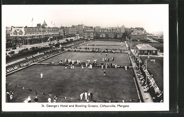 AK Margate-Cliftonville, St. George's Hotel and Bowling Greens, Boules