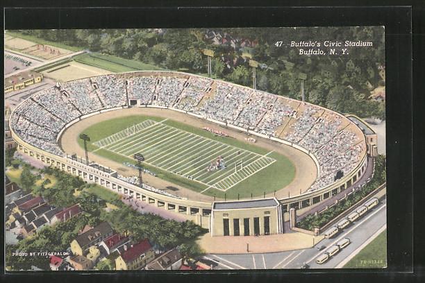 AK Buffalo, NY, Buffalo's Civic Stadium, Stadion