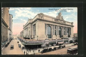 AK New York, NY, Grand Central Terminal Station, Bahnhof