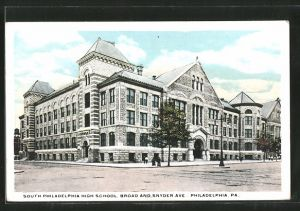 AK Philadelphia, PA, South Philadelphia High School, Broad and Snyder Ave.