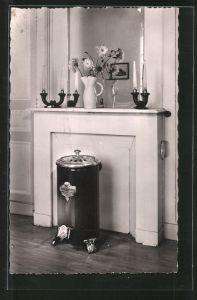 AK Le Merveilleux, Reklame für Ofen