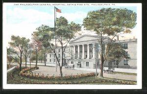 AK Philadelphia, PA, The Philadelphia General Hospital, 34th & Pine Sts.