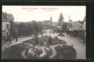 AK Carspach, Schloss Sonnenberg, Eingang