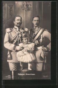 AK Die Dreikaiser-Generation des deutschen Reiches