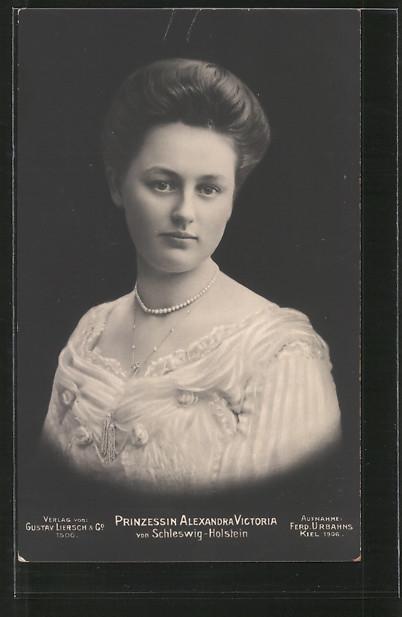 AK Prinzessin Alexandra Victoria von Schleswig-Holstein