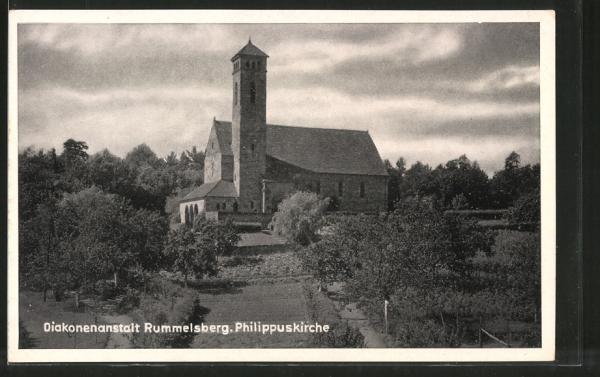 AK Rummelsberg, Philippuskirche der Diakonenanstalt