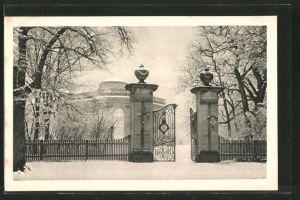 AK Braunschweig, Schloss Richmond im Winter