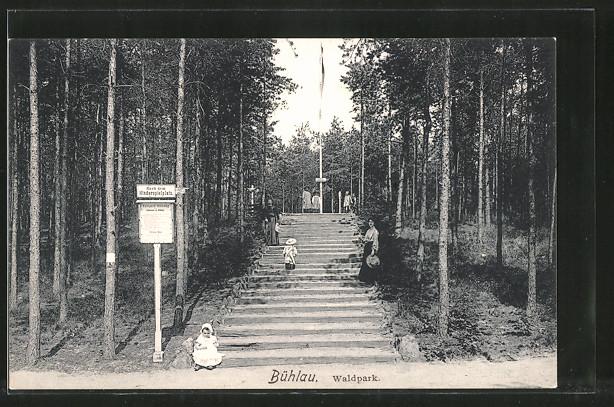 Treppen Dresden | Ak Dresden Buhlau Treppen Zum Kinderspielplatz Am Waldpark Nr