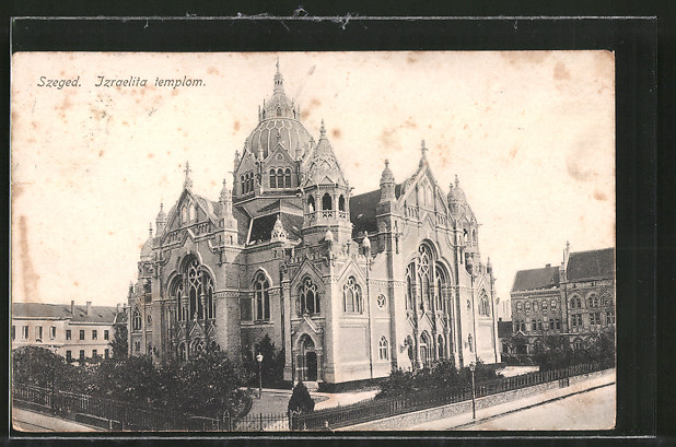AK Szeged, Synagoge, Izraelita templom