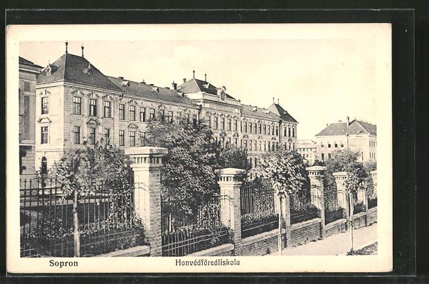 AK Sopron-Ödenburg, Honvedförealiskola