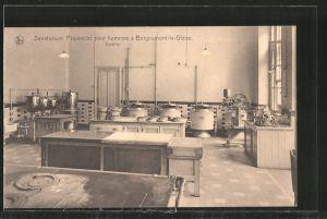 AK Borgoumont-la-Gleize, Sanatorium Provincial pour hommes, Cuisine, Küche