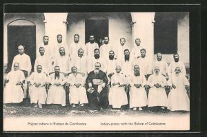 AK Coimbatore, Indian Priests with the Bishop, Missionar: Bishop of Coimbatore