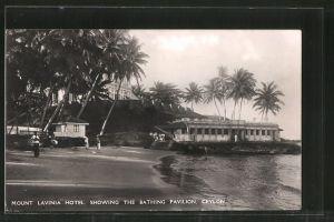 AK Mount Lavinia, Mount Lavinia Hotel, showing the Bathing Pavilion