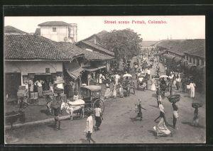 AK Colombo, Street Scene Pettah