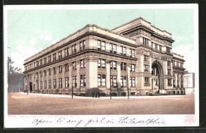 AK Philadelphia, PA, Drexel Institute