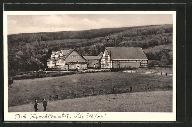 AK Velmeden, Reichs - Flugmodellbauschule